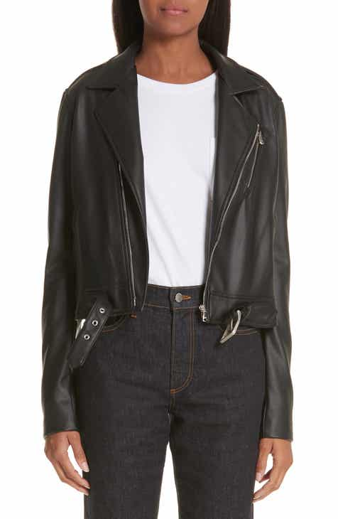 783b62813a6b Simon Miller x Paramount Grease Faux Leather Biker Jacket (Nordstrom  Exclusive)