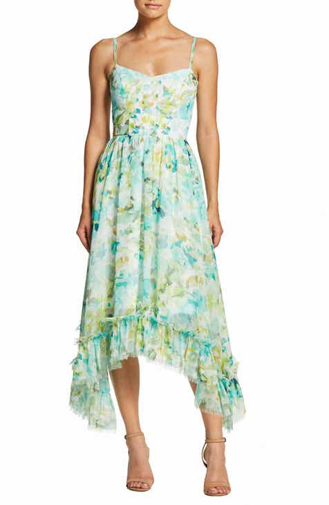 3c699cae9db Dress the Population Judy Crescent Flounce Dress