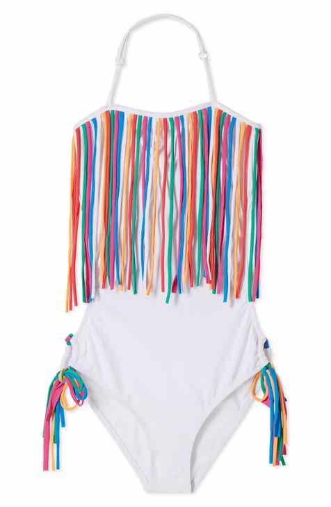 f803c0d71b0c7 Stella Cove Fringe One-Piece Swimsuit (Little Girls)