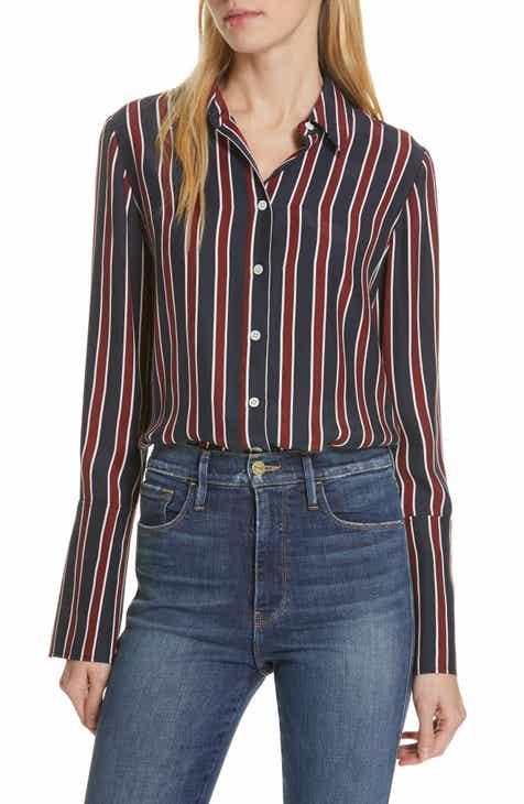 2efae16d6441cd FRAME Stripe Pajama Shirt