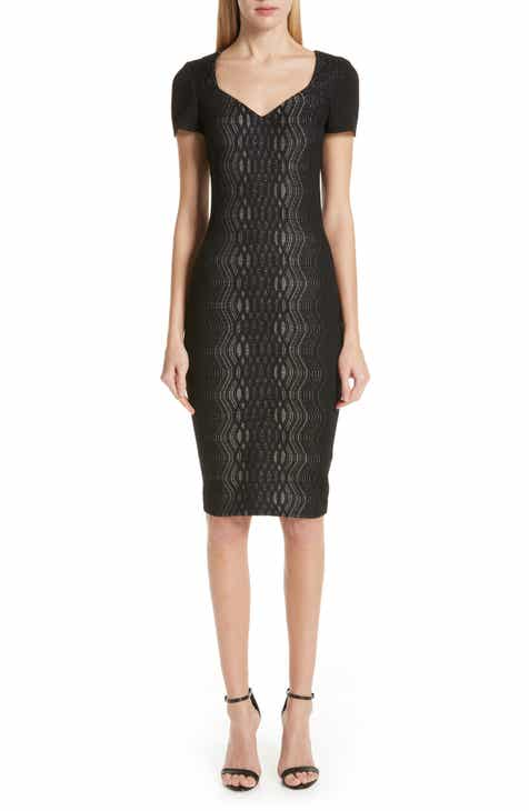 St. John Collection Illusion Jacquard Knit Dress by ST. JOHN COLLECTION