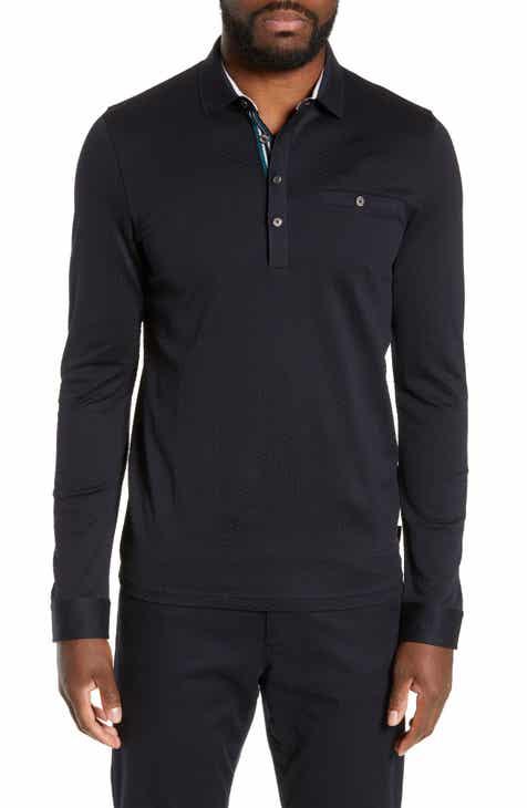 4d54abdb3 Men s Long Sleeve Polo Shirts