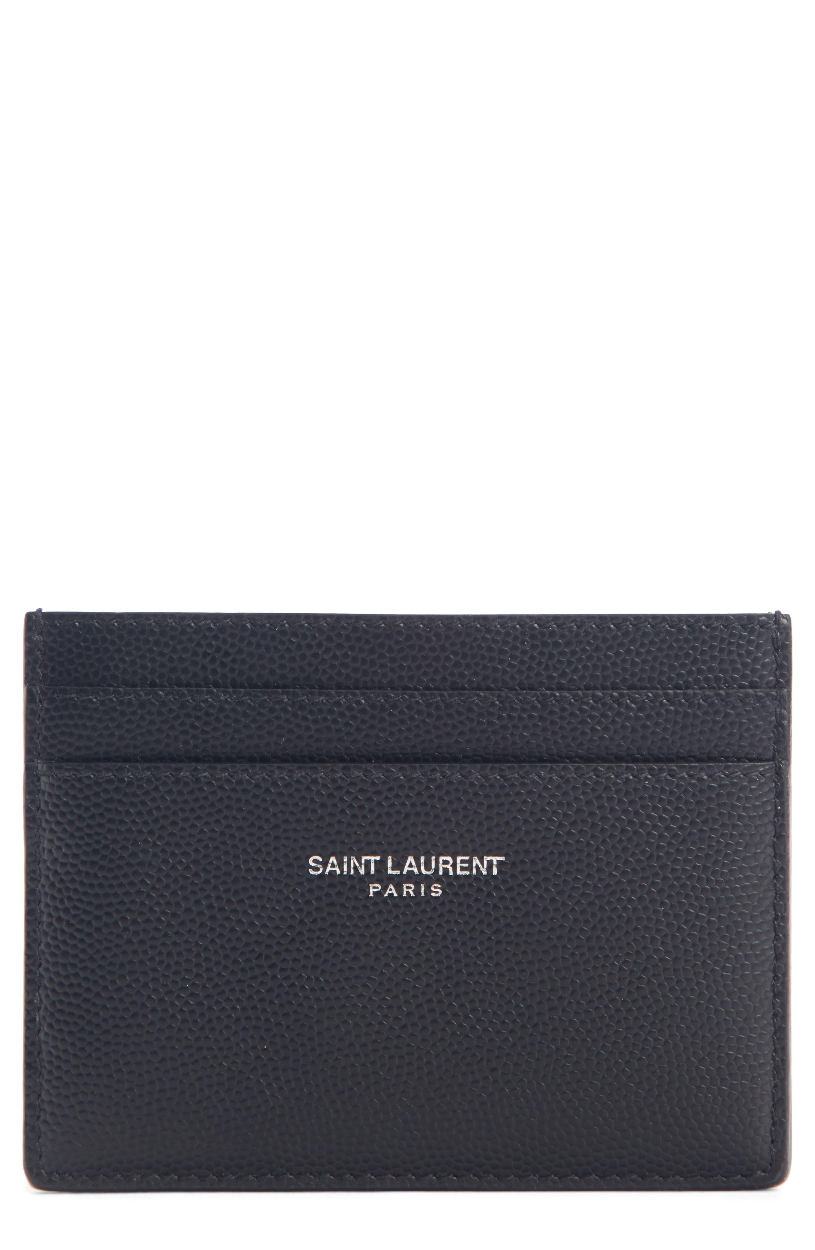 ab2997c4dd7 ysl card case | Nordstrom