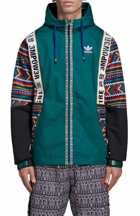 8d9ca036881d adidas Originals Pharrell Williams Hooded Jacket