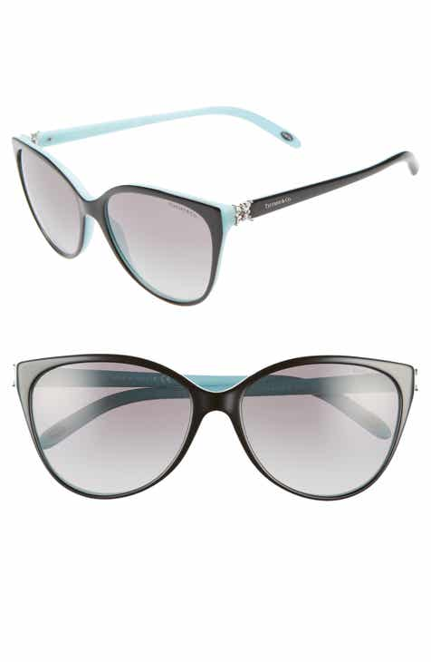 4e42a5106 Tiffany & Co. 58mm Gradient Cat Eye Sunglasses
