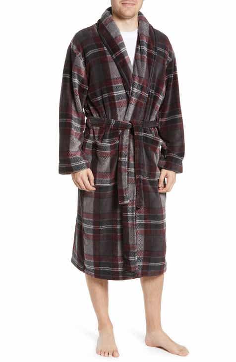 Majestic International Mountains of Comfort Shawl Fleece Bath Robe f9fa980b6