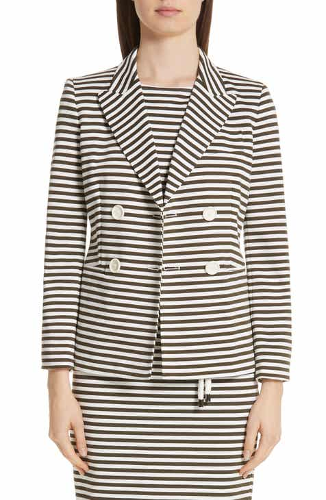 Max Mara Stallo Stripe Jacket by MAX MARA