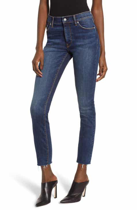 3ac978e14ed Hudson Jeans Barbara High Waist Ankle Skinny Jeans (Clean Side Bar)