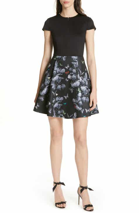 10630e8ab3230e Ted Baker London Crall Narnia Skater Dress
