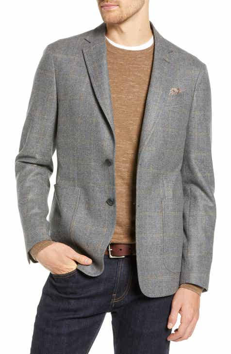 1901 Extra Trim Fit Windowpane Sport Coat