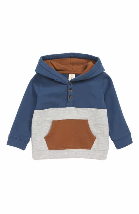 fe91dc7a2d Tucker + Tate Color Block Hooded Henley (Baby)