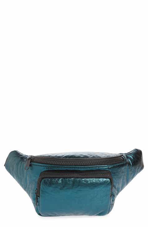 d15115e9f5d Jane   Berry Metallic Faux Leather Belt Bag