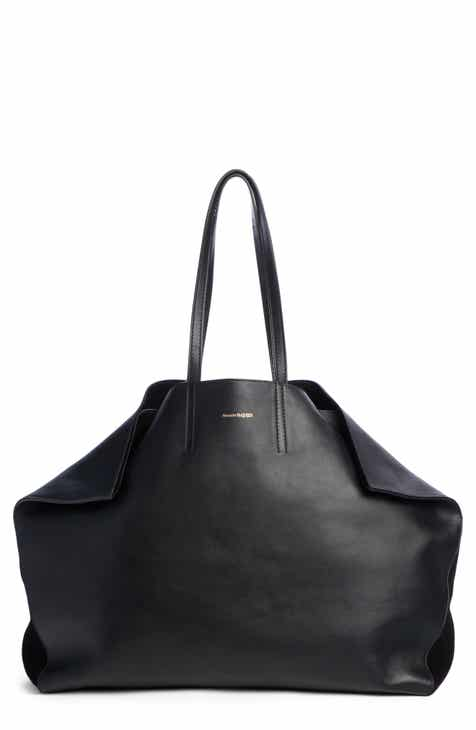 Alexander Mcqueen Erfly Leather Tote