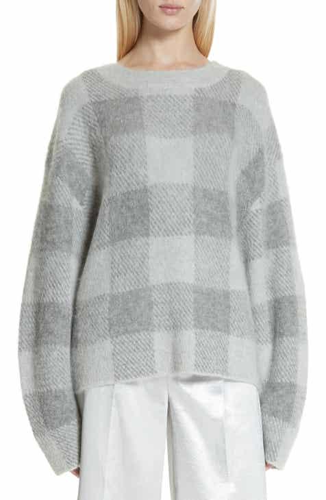 Vince Plaid Oversize Sweater c03682dab