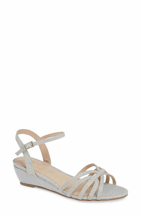 Women S Metallic Wedge Sandals Nordstrom