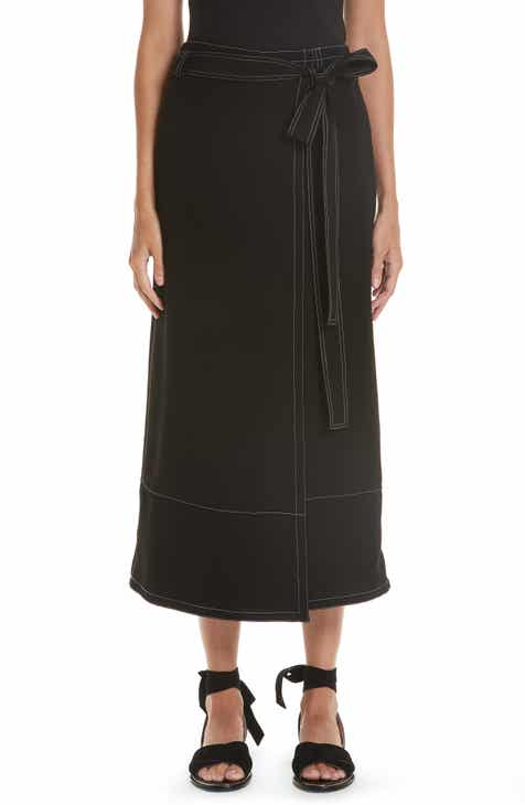 Yigal Azrouël Wrap Front Culottes by Yigal Azrouel