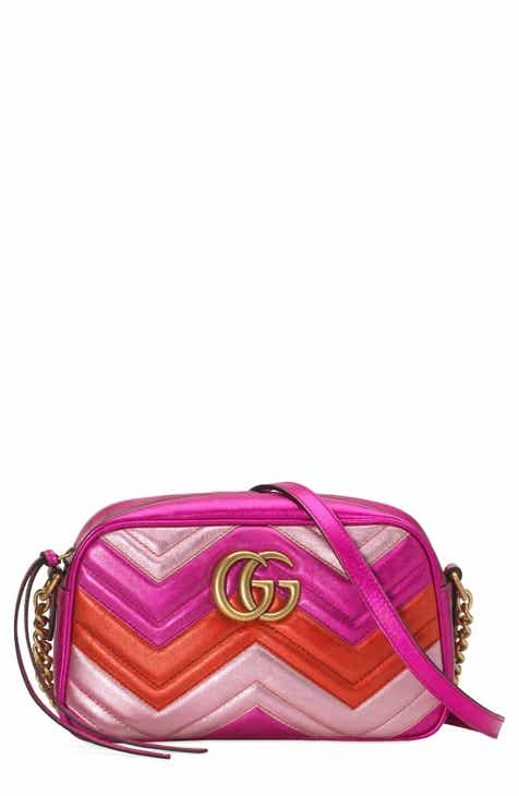 1e0bb699562 Gucci Marmont 2.0 Leather Crossbody Bag