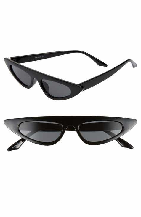 7155c7311defe Glance Eyewear 50mm Flat Top Cat Eye Sunglasses