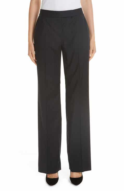 Max Mara Giglio Wide Leg Wool Pants by MAX MARA
