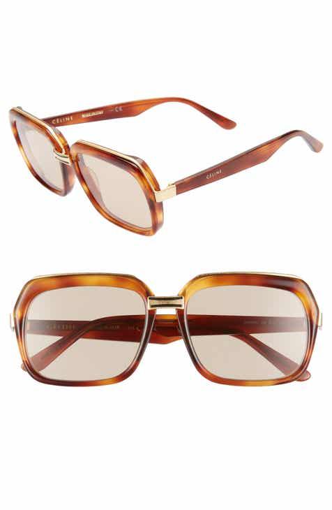 a315ded4832 CELINE 56mm Smart Fit Sunglasses