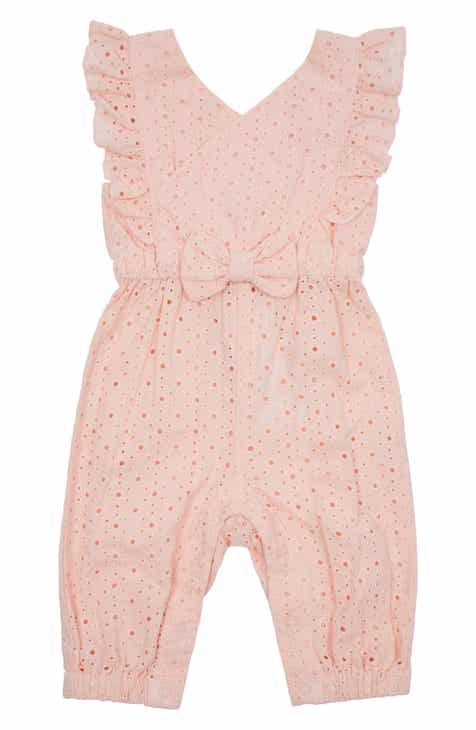c80949b03 Baby Girl Rompers & One-Pieces: Ruffle, Woven & Print | Nordstrom