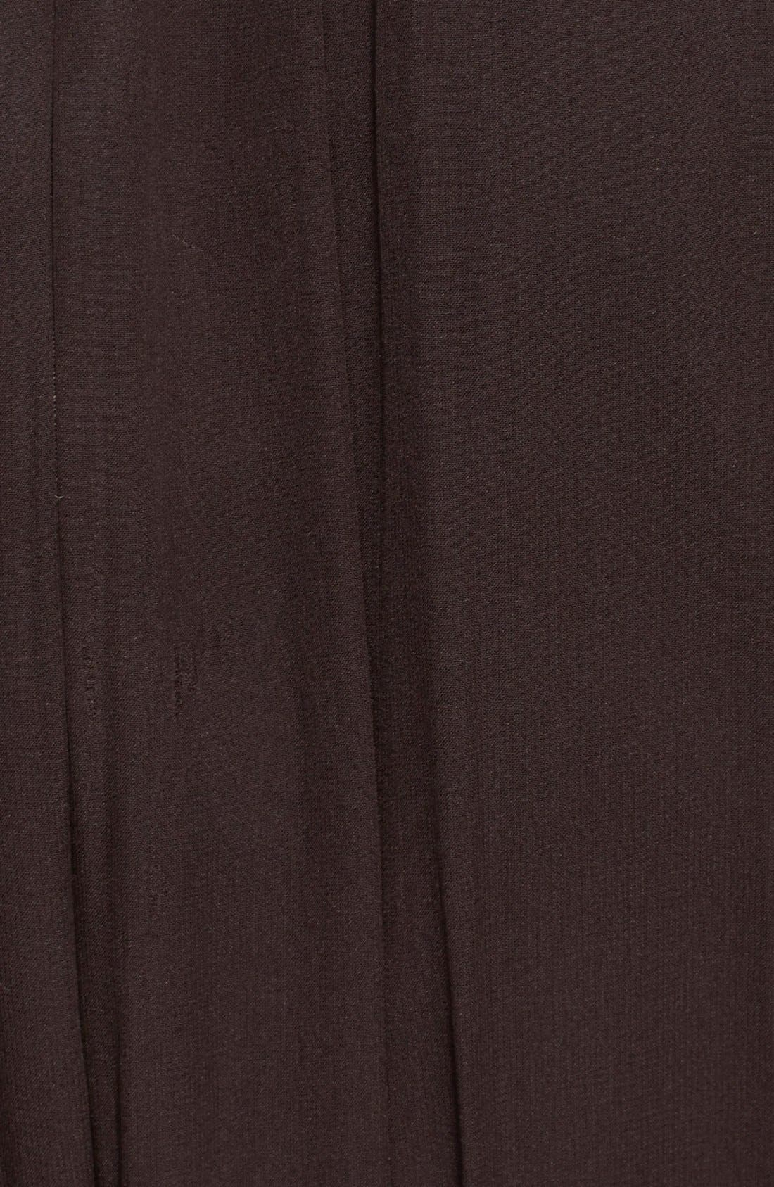 Alternate Image 4  - St. John Collection Belted Embellished Silk Georgette Gown