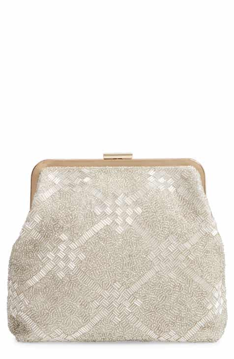9db7e7a99c Clare V. Flore Beaded Frame Clutch