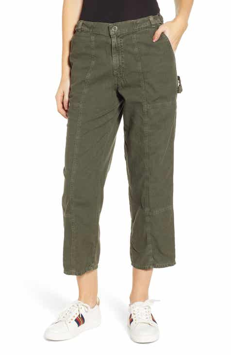 Eileen Fisher Wide Crop Yoked Pants (Regular & Petite) by EILEEN FISHER
