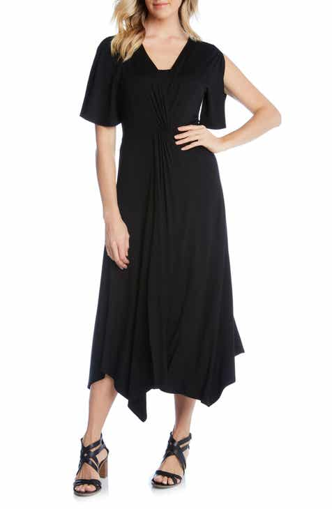 STAUD Birdie Linen Blend Midi Dress by STAUD