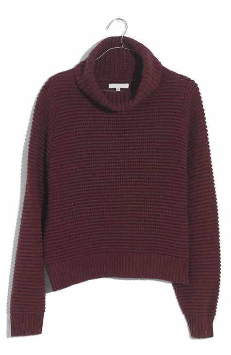 303ebf42ea Madewell Side Button Turtleneck Sweater
