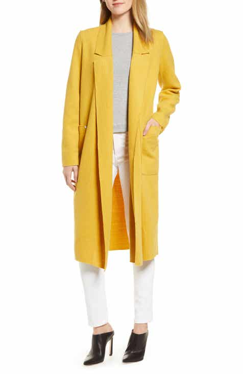 Sosken Heidi Ribbed Brushed Knit Coat by SOSKEN