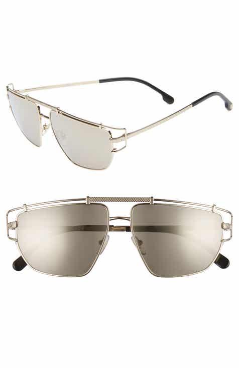 11ad5cbb66026 Versace Greca 57mm Aviator Sunglasses