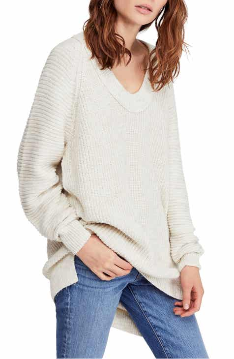 d9c0bfa2fd Free People Sunday V-Neck Sweater