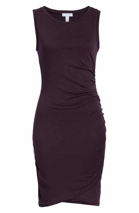 5f8a324e5 Leith Ruched Body-Con Tank Dress