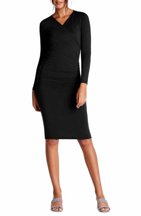 Michael Stars Mikaela Crossover Knit Dress