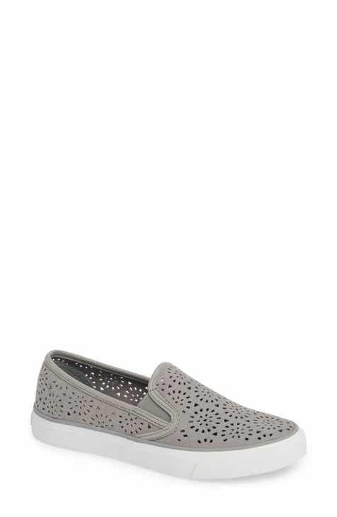 49303f4b998 Sperry Seaside Nautical Perforated Slip-On Sneaker (Women)