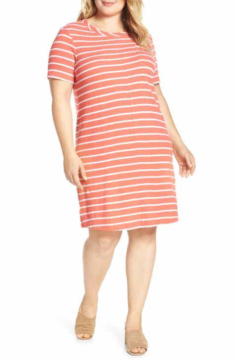 658aa812ce Caslon® T-Shirt Dress (Plus Size)