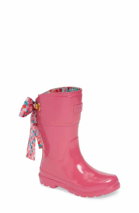 eb086b212f6f Joules Bow Welly Waterproof Rain Boot (Toddler