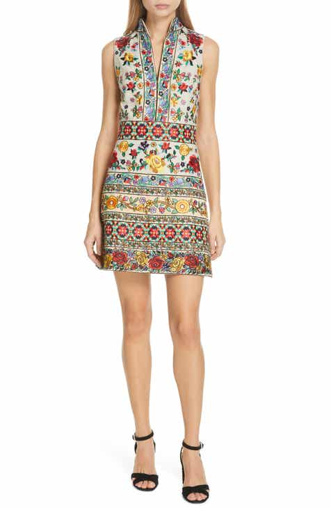 Alice + Olivia Savannah Embroidered Dress by ALICE AND OLIVIA