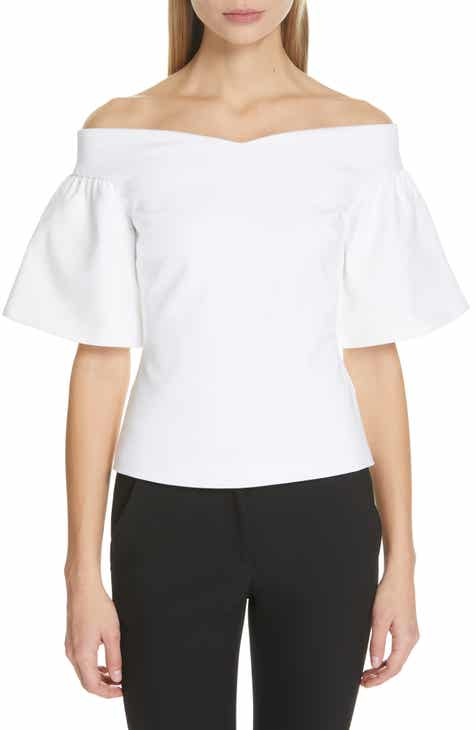 95db1bff28437 Ted Baker London Gianori Off the Shoulder Top.  175.00. Product Image