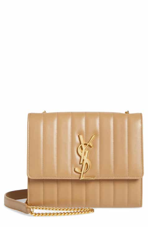 Saint Laurent Small Vicky Leather Wallet on a Chain aaa9292b5c9db