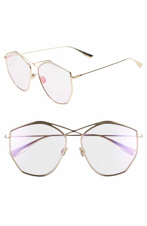 9708656f20a74 Dior 59mm Metal Sunglasses