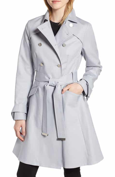 49ac380dd40ffb Ted Baker London Tie Cuff Detail Trench Coat