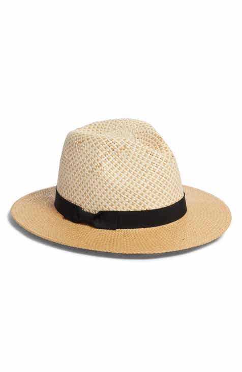 Something Navy Basket Weave Panama Hat (Nordstrom Exclusive) 1cb0c63dfe