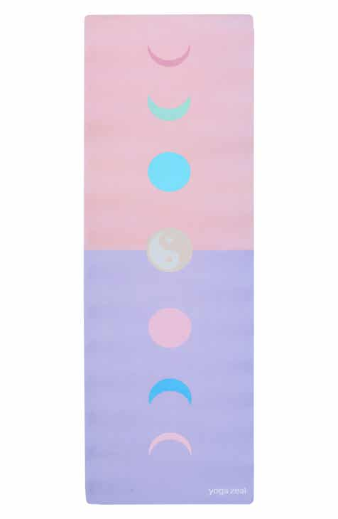 Yoga Zeal Ying Yang Colorblock Yoga Mat by YOGA ZEAL