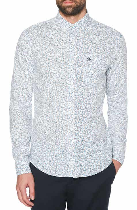 934fb8a50f98e Original Penguin Ditsy Floral Slim Fit Sport Shirt