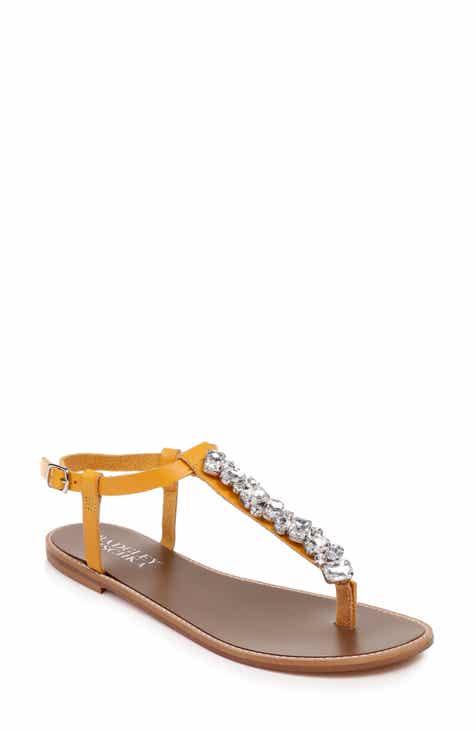 41d5b9c58dcc7c Badgley Mischka Lucia Crystal Embellished Sandal (Women)