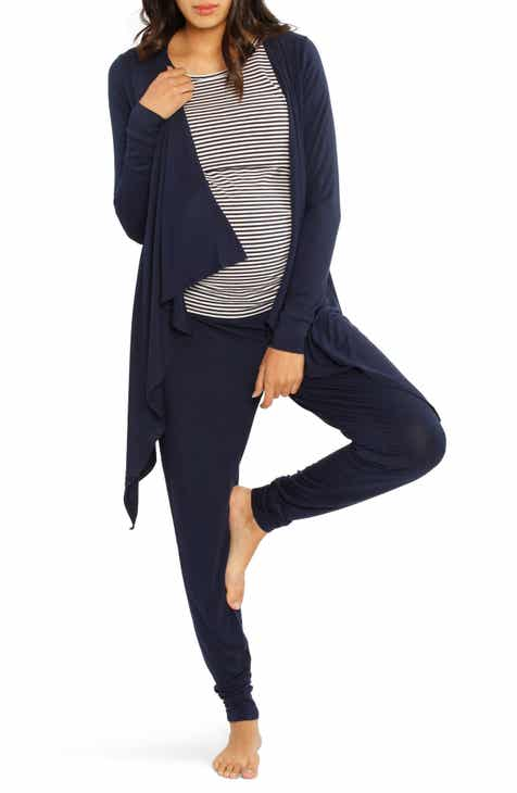 f1413b6de Angel Maternity Maternity/Nursing Cardigan, Tank & Pants Set