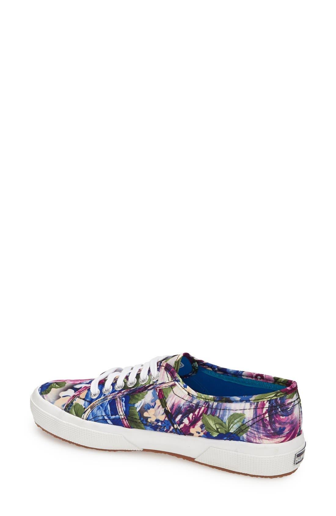 Alternate Image 2  - Superga 'Cotu' Floral Print Sneaker (Women)