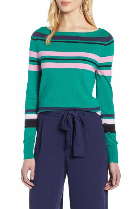2c43590435 Halogen® Bateau Neck Sweater (Regular   Petite)